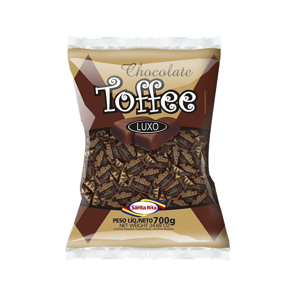 Chocolate Toffee Chewable Candy