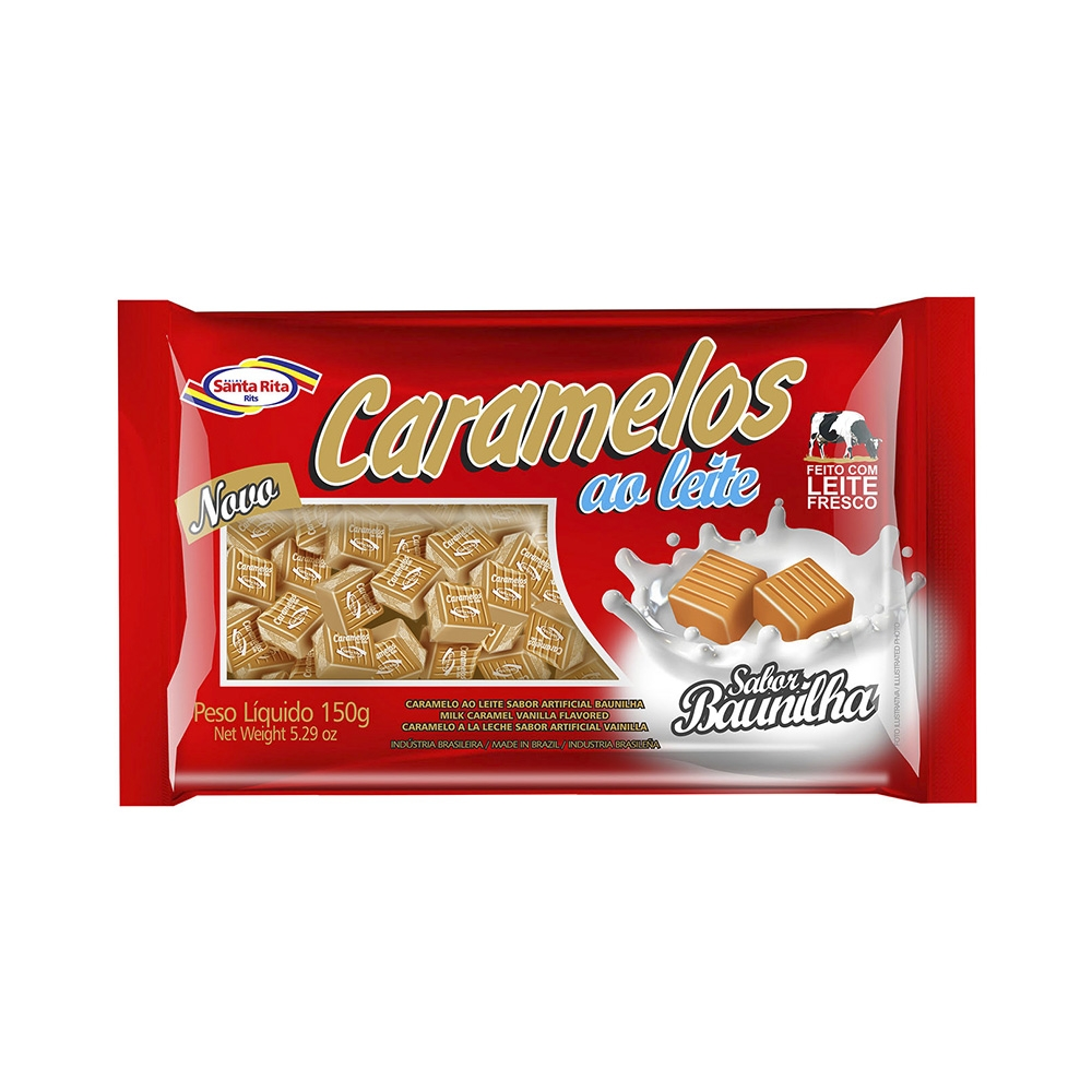 Caramels Milk Chewable Candy